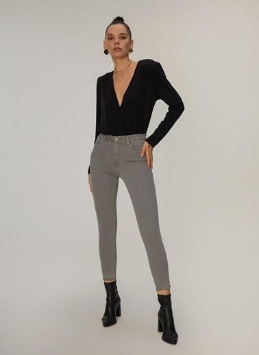 NGSTYLE Skinny Jean Pantalon Füme